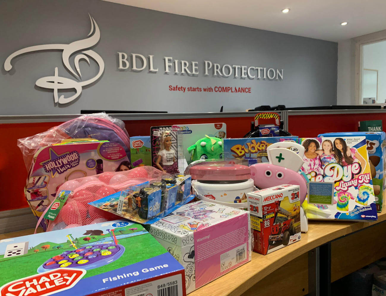 Stanlaw Abbey Business Centre Christmas Toy Appeal